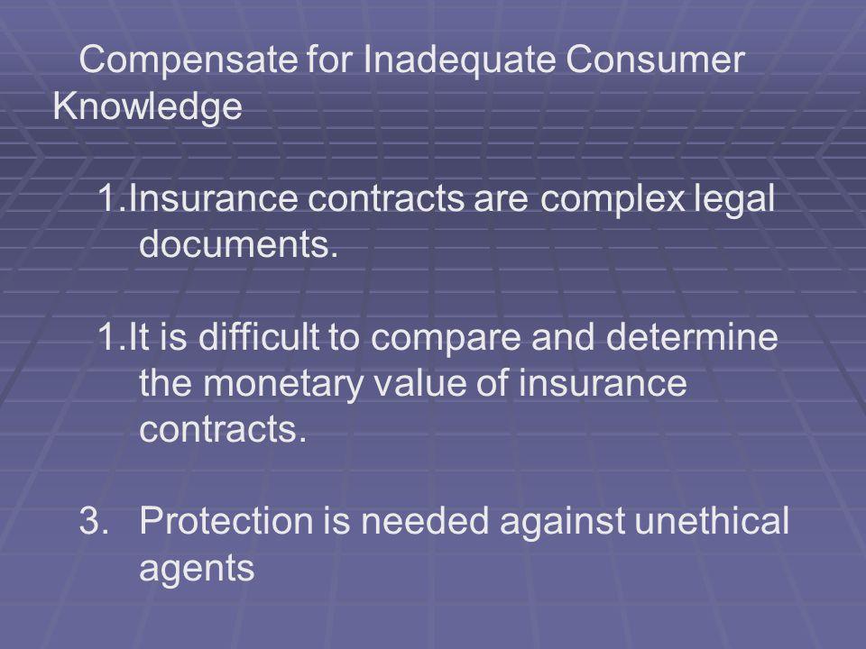 Ensure Reasonable Rates Make Insurance Available