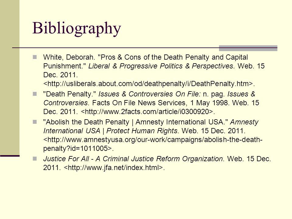Bibliography White, Deborah.