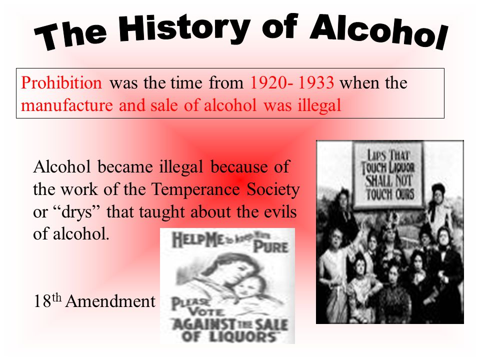 III. Prohibition Organizations A. Women's Christian Temperance Movement Again what is Temperance
