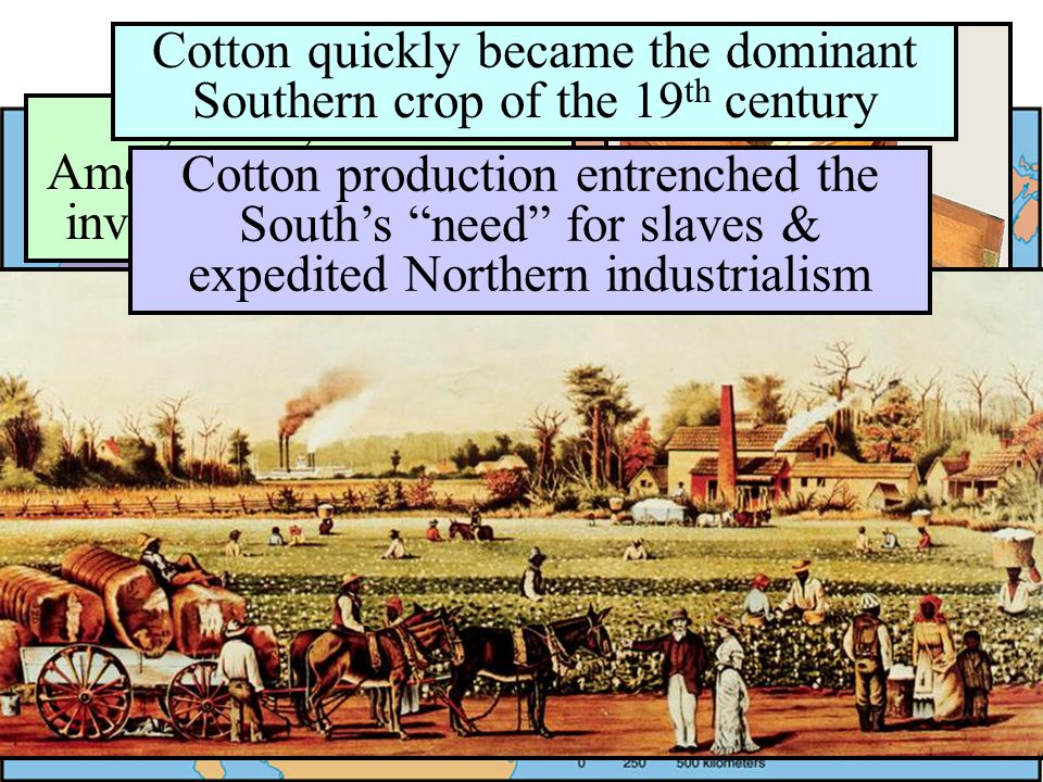 The U.S. Economy in 1800 By 1810, 84% of Americans were directly involved in agriculture The Southern economy was dominated by rice & tobacco cultivat