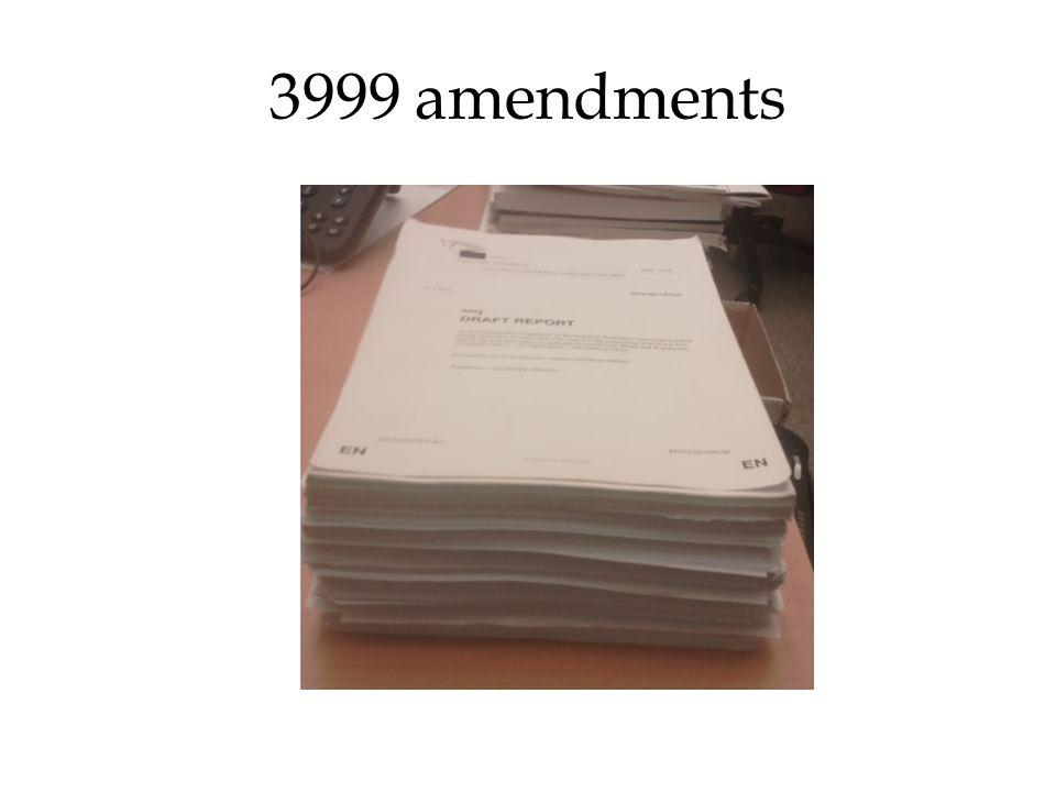 3999 amendments