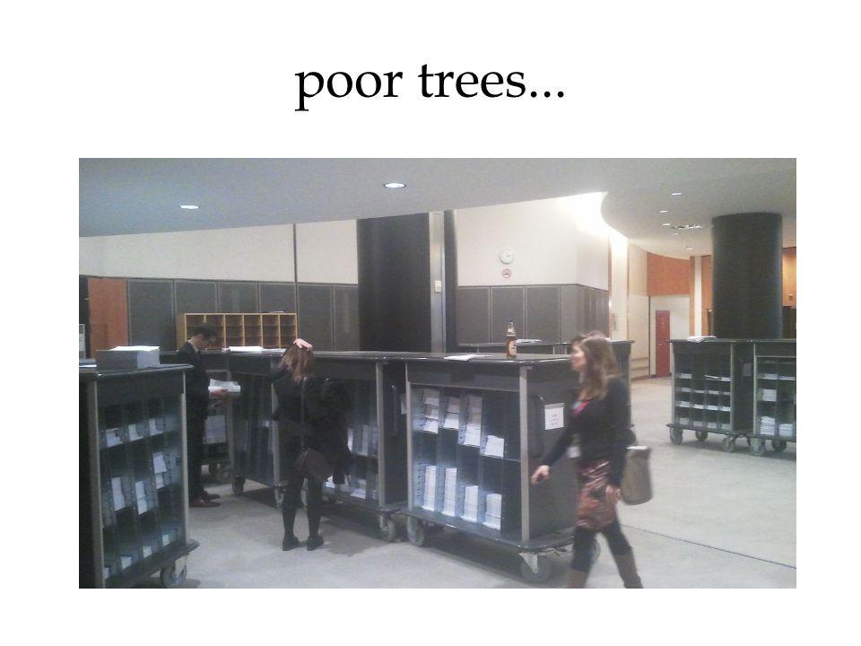 poor trees...