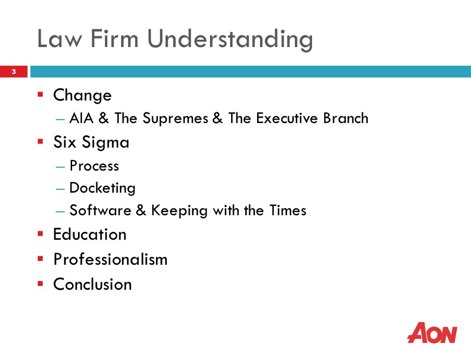 Changing Times & Changing Law 4