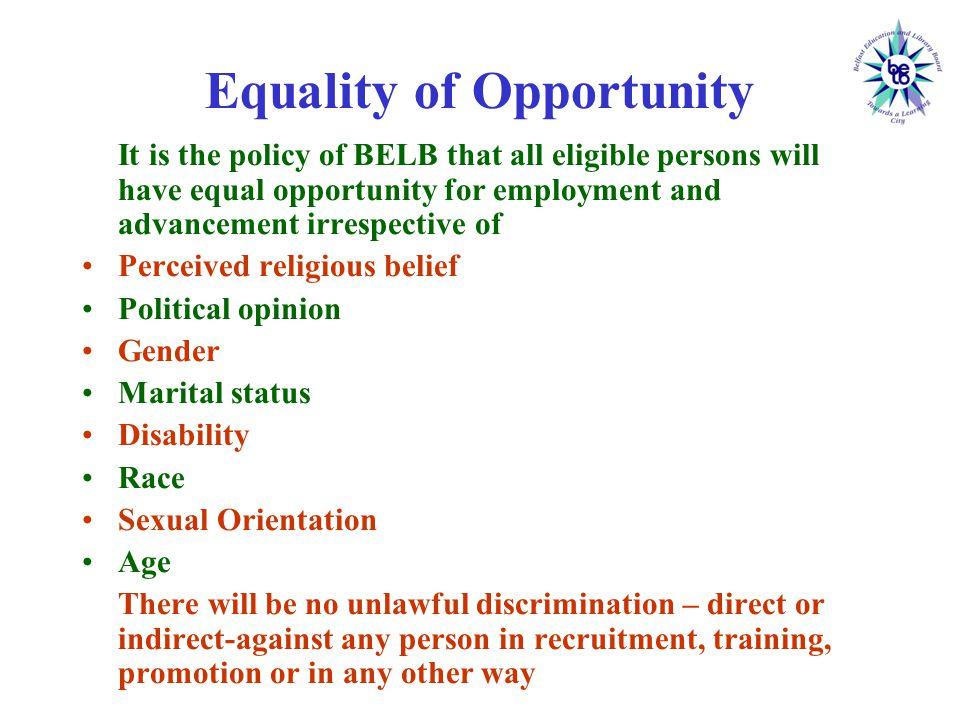 Anti Discrimination Legislation in Northern Ireland Fair Employment and Treatment (NI) Order 1998 (as amended) (FETO) Sex Discrimination (NI) Order 1976 (as amended) Equal Pay Act (NI) 1970 (as amended) Sex Discrimination (NI) Order 1976 (as amended) = Religion / Political Opinion = Sex = Marital / Family Status
