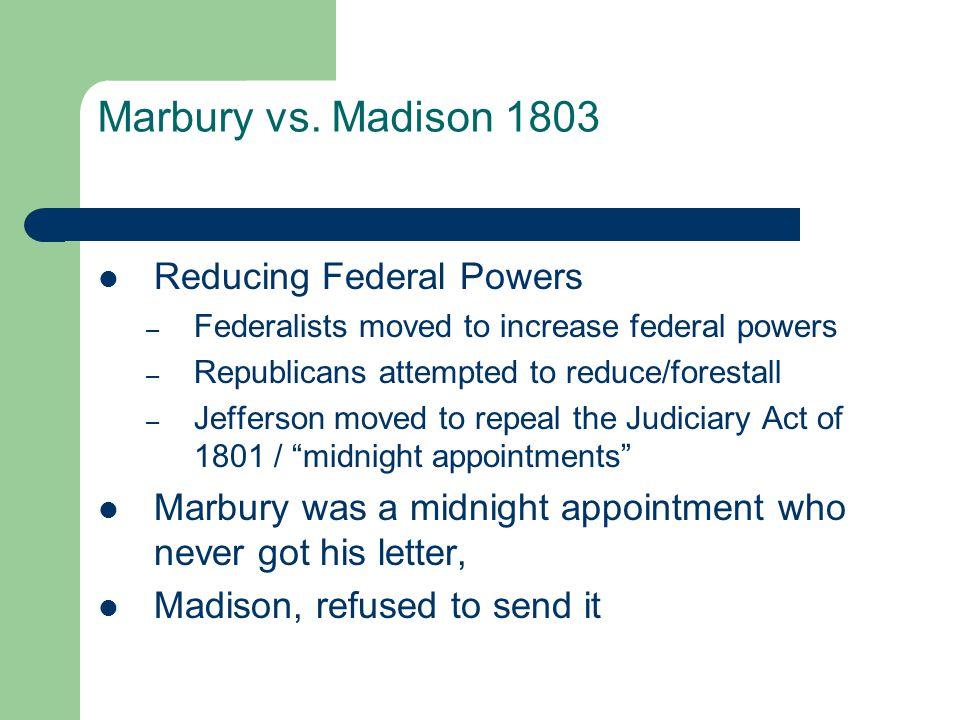 Marbury vs.