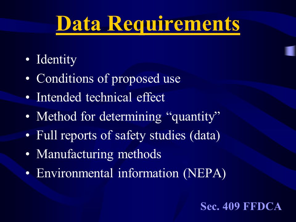 Key Players Consumer Safety Officer (CSO) Chemistry Toxicology Environmental CSO C T E