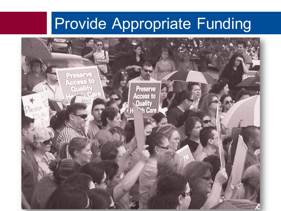  Dual-Eligible Cuts Provide Appropriate Funding
