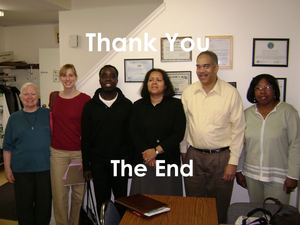 The End Thank You The End