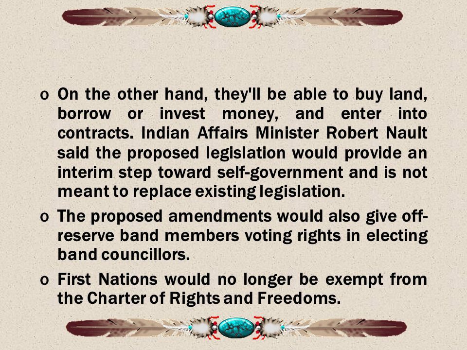 oOn the other hand, they ll be able to buy land, borrow or invest money, and enter into contracts.