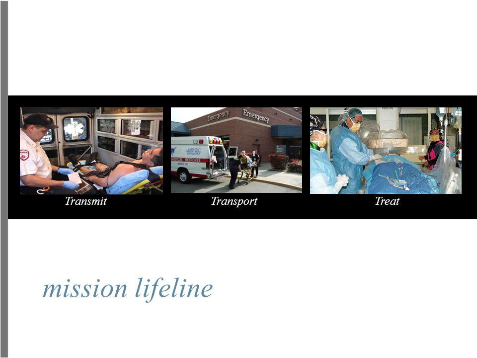 Transmit Transport Treat mission lifeline