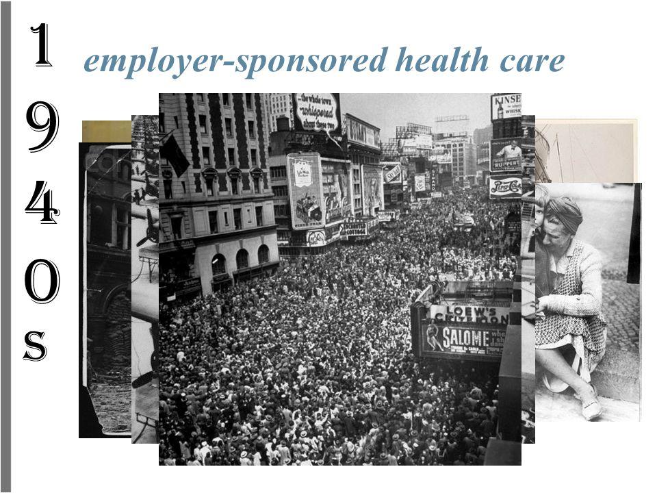 employer-sponsored health care 1940s1940s