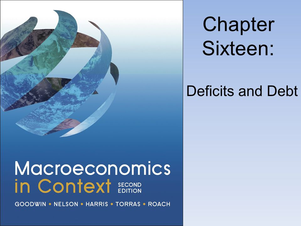 Chapter Sixteen: Deficits and Debt