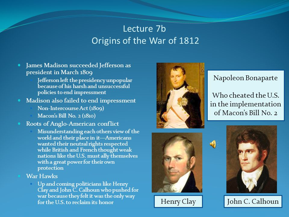Lecture 7b Jefferson's Difficult Second Term Jefferson easily re-elected in 1804, but afterwards his fortunes suffered Political troubles: Fallout fro