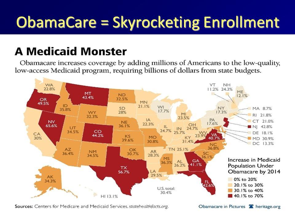 ObamaCare = Skyrocketing Enrollment