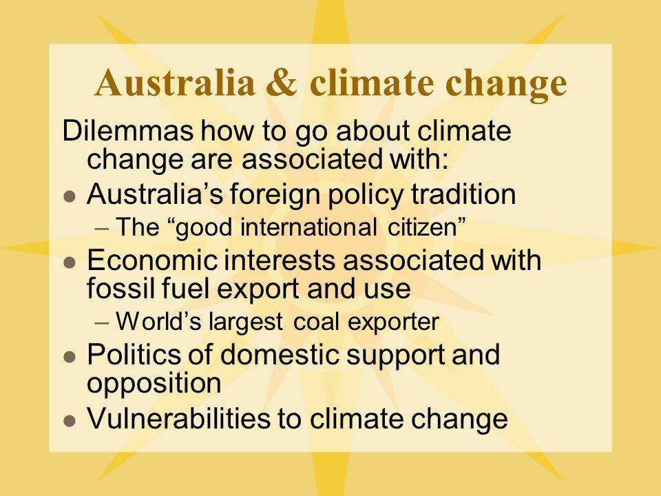 Australian governments & UNFCC Hawke government (1983-1992) Keating government (1992-1996) Howard government (1996-2007) Rudd government (2007-2010) Governments post-2010