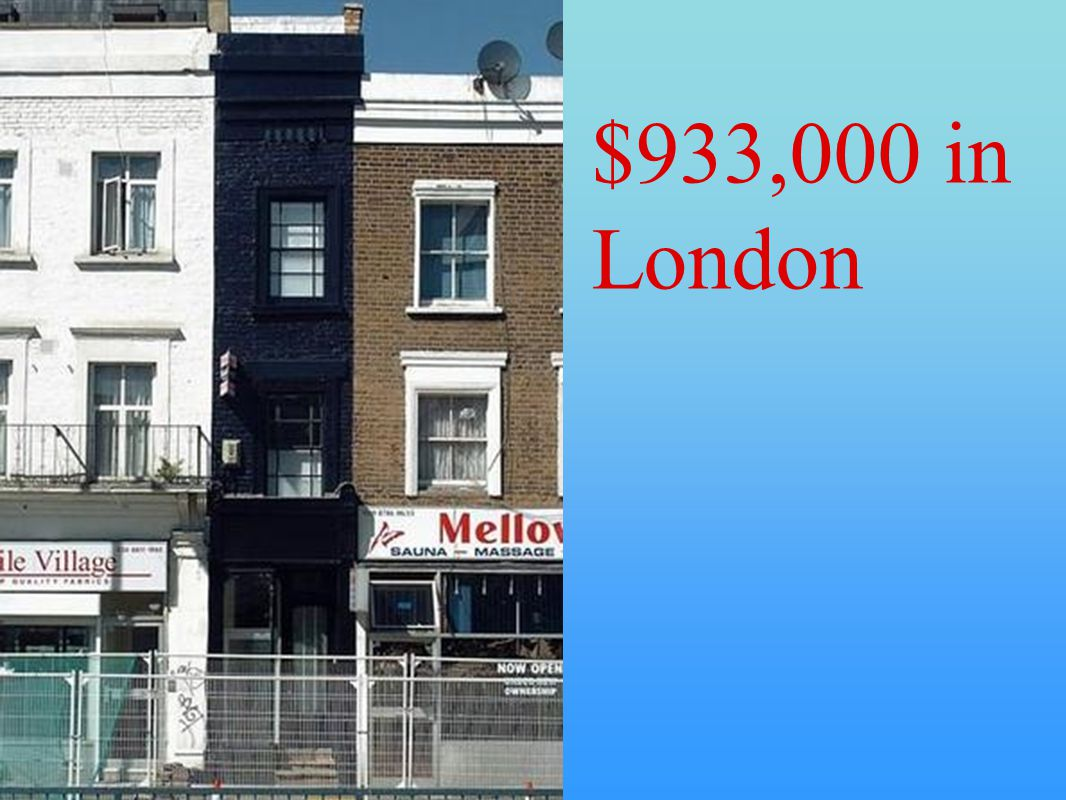 $933,000 in London