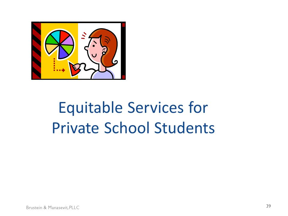 Brustein & Manasevit, PLLC 39 Equitable Services for Private School Students