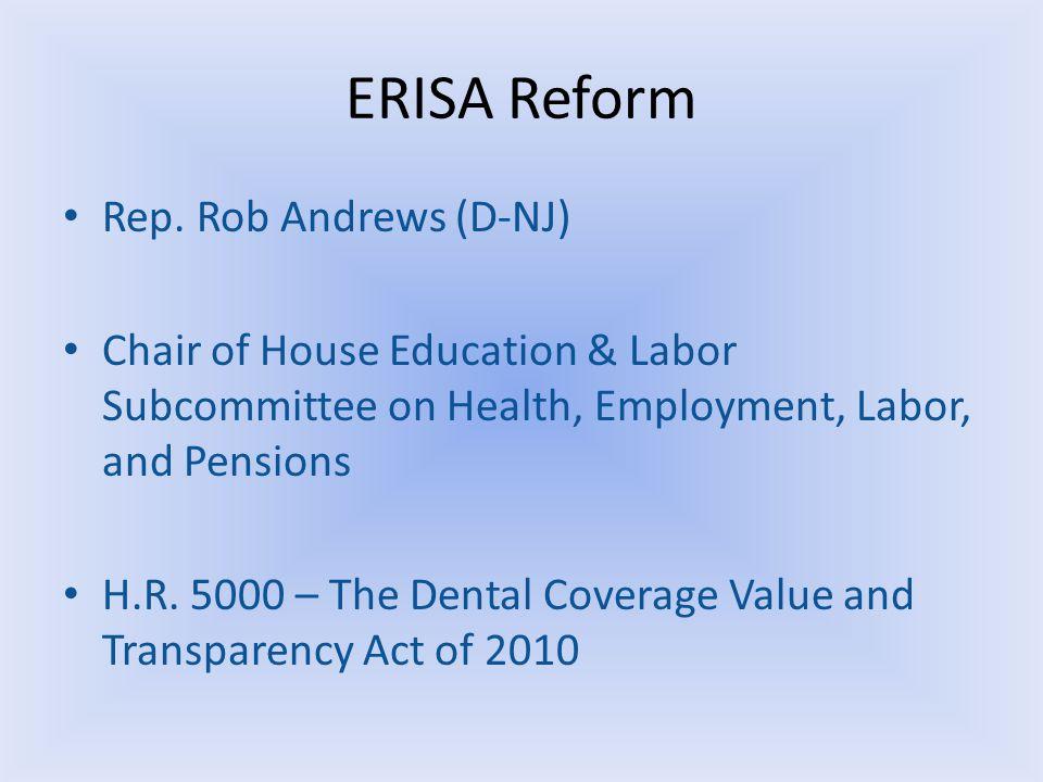 ERISA Reform Rep.