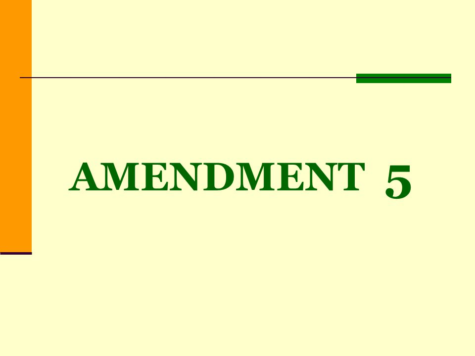 AMENDMENT 5 10% & 5% Cap Impact to Orange Co.