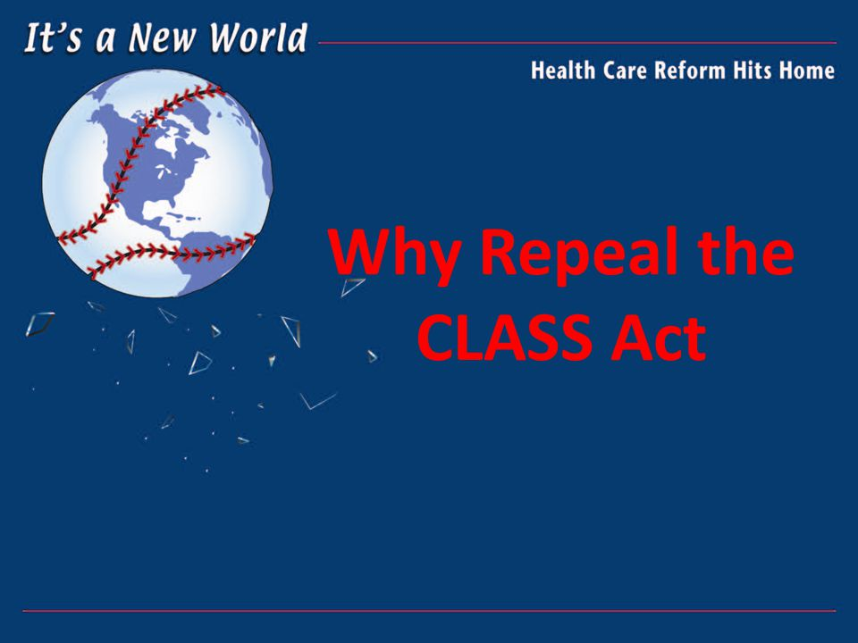 Why Repeal the CLASS Act