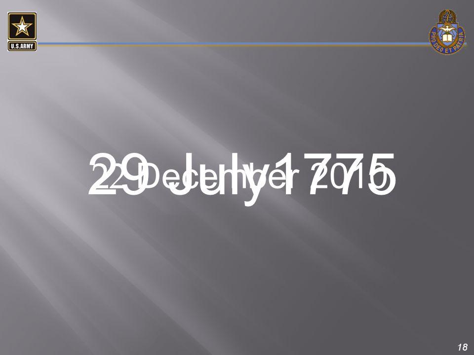 18 22 December 2010 29 July1775