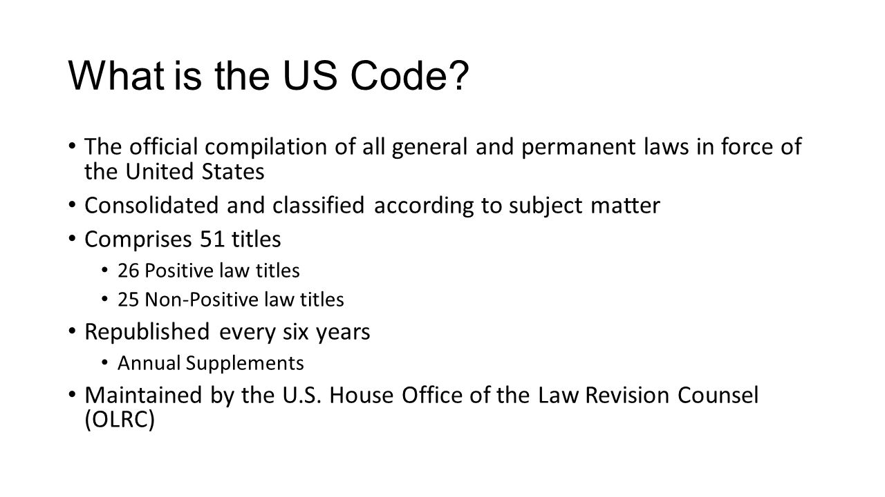What are the Statutes At Large.