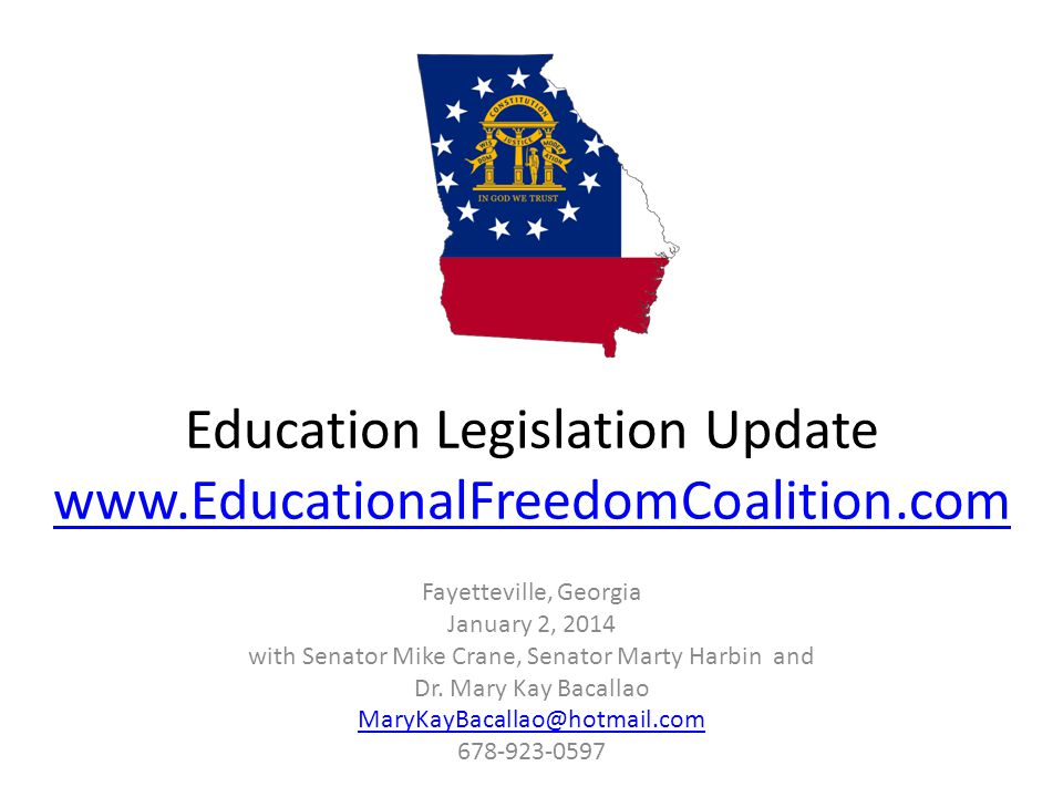 Offense Try to pass these bills: 1.A Georgia FERPA, otherwise known as the Hatch Amendment, protected students from psychological testing and attitude based evaluations.
