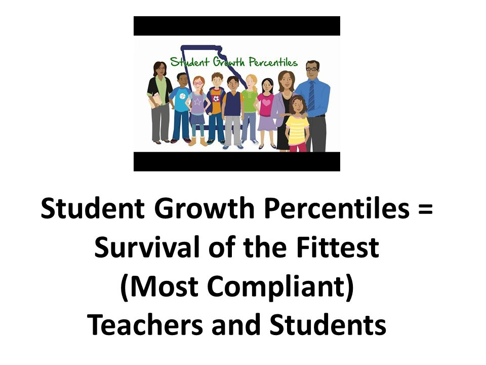 Student Growth Percentiles = Survival of the Fittest (Most Compliant) Teachers and Students