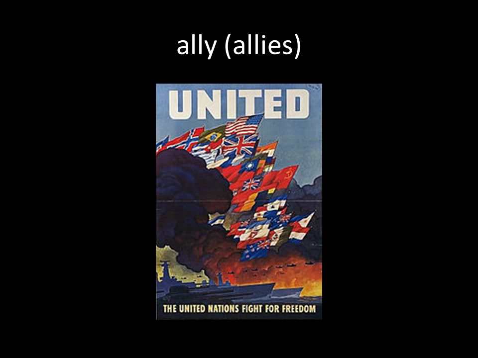 ally (allies)