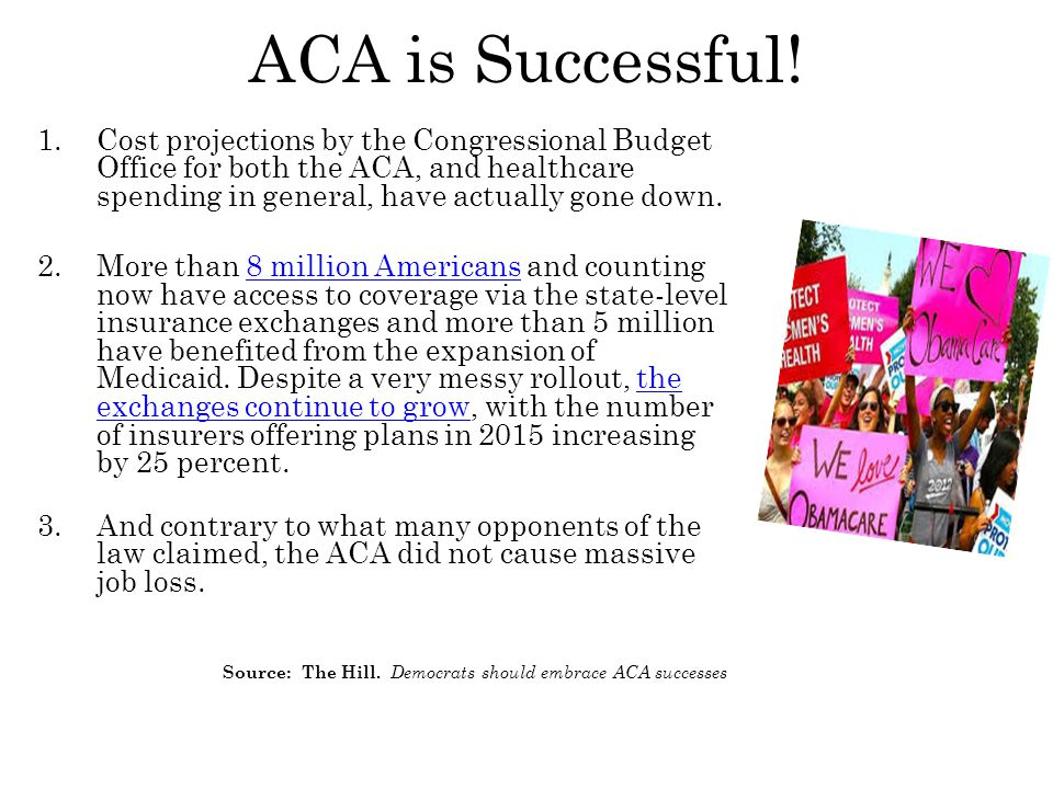 ACA is Successful.
