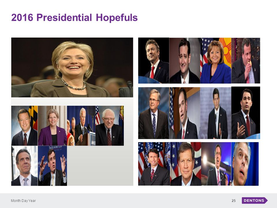 2016 Presidential Hopefuls Month Day Year25
