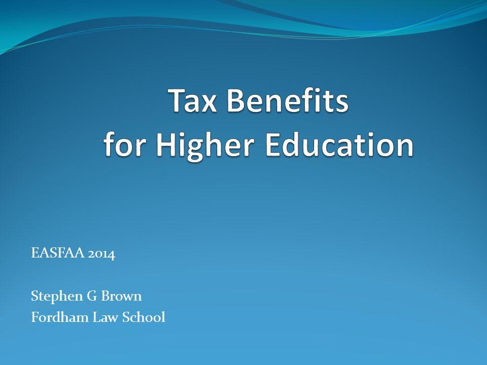 EASFAA 2014 Stephen G Brown Fordham Law School