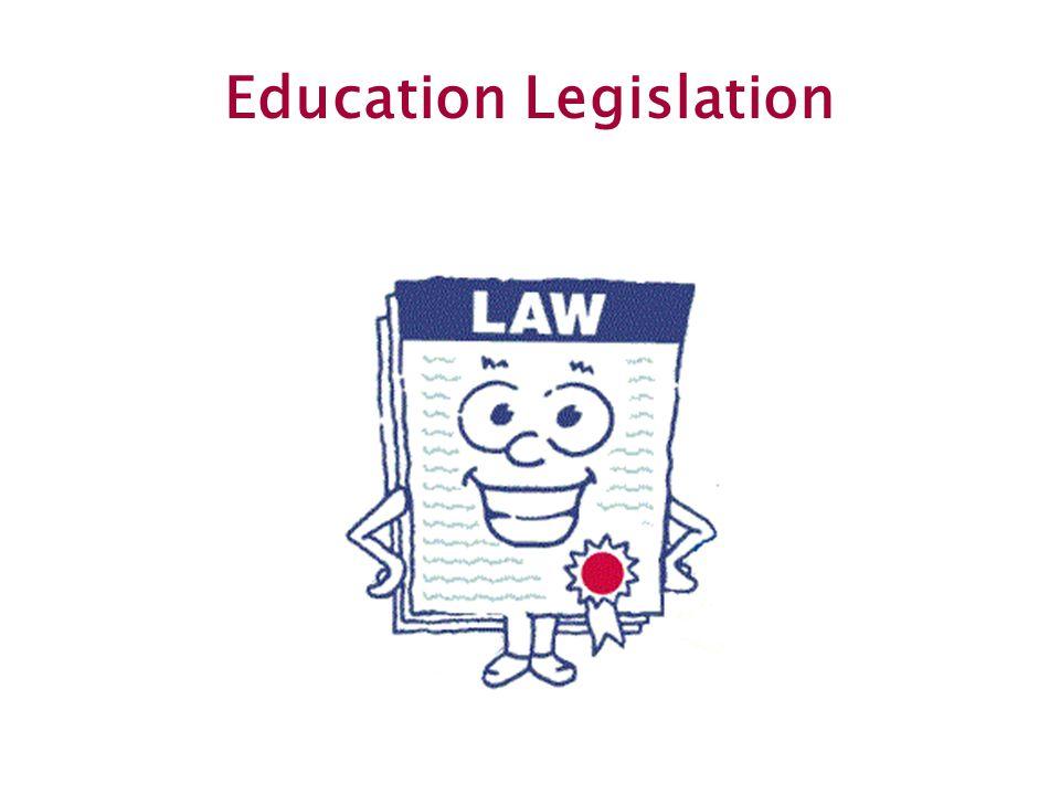 29 Education Legislation