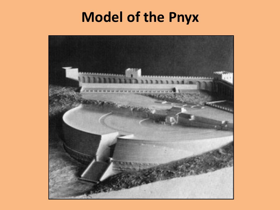 Model of the Pnyx