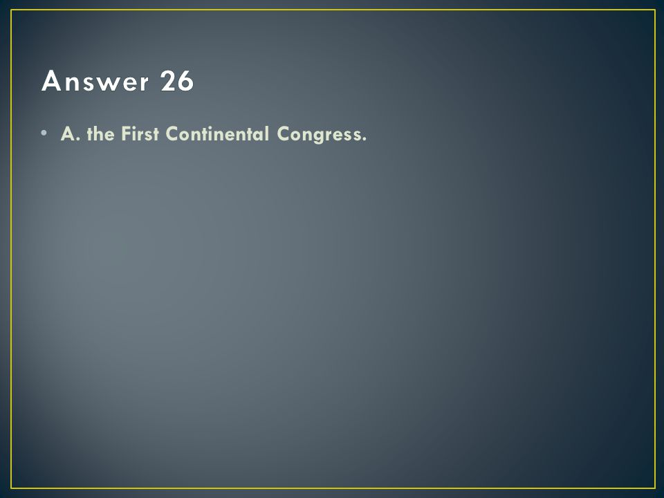 At the Constitutional Convention of 1787, the Great Compromise settled the issue of representation in Congress by – A.