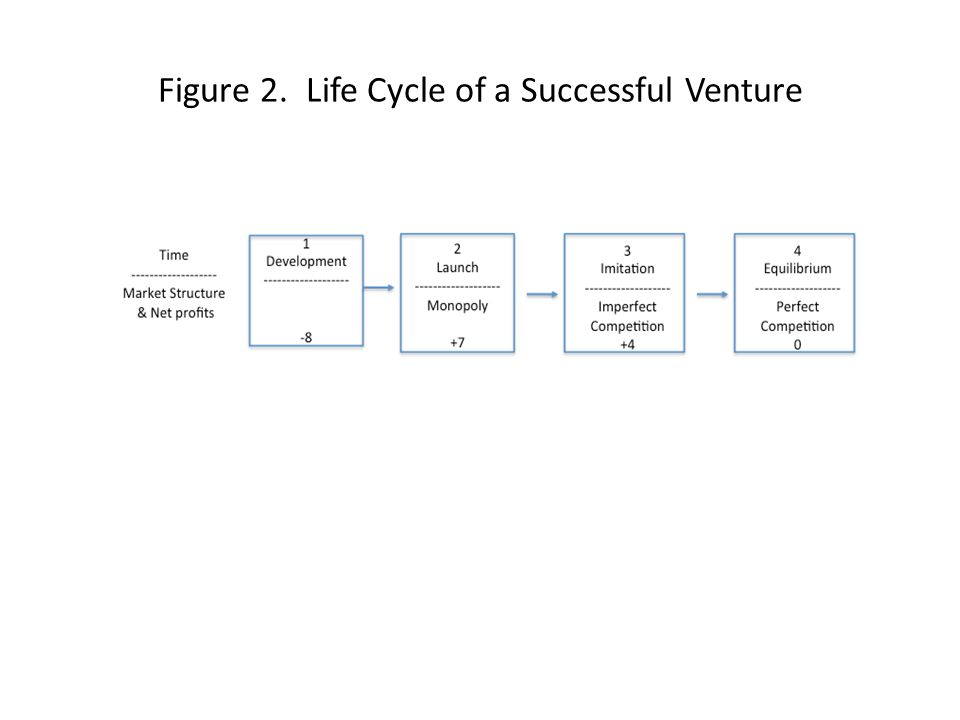 Figure 2. Life Cycle of a Successful Venture