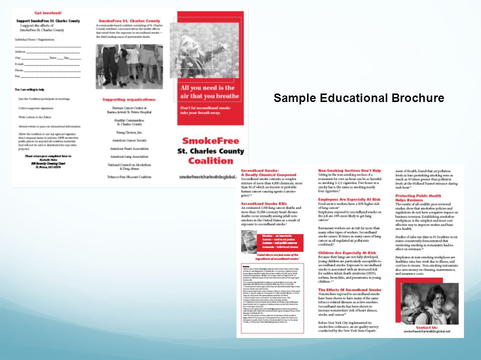 Sample Educational Brochure