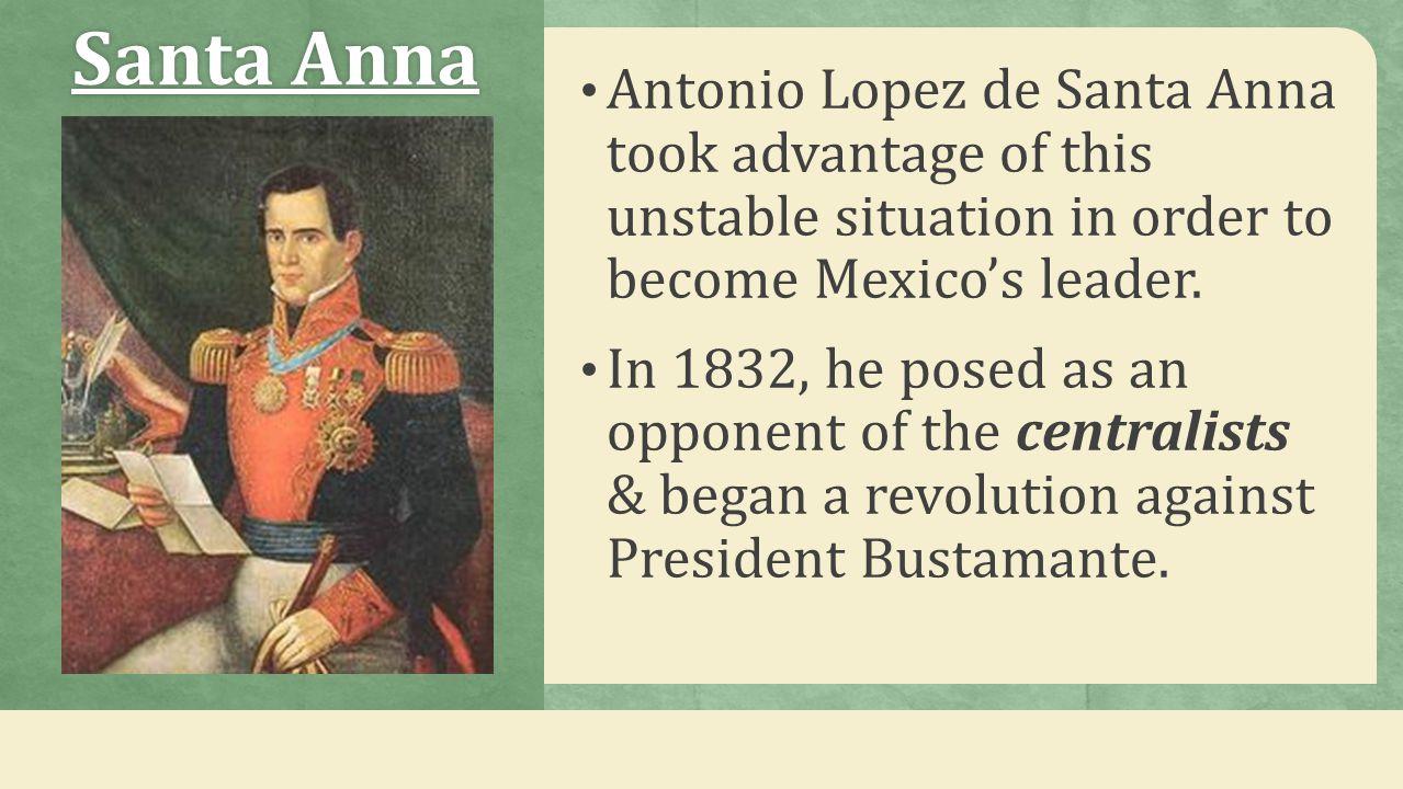 Texans Support Santa Anna Stephen F.