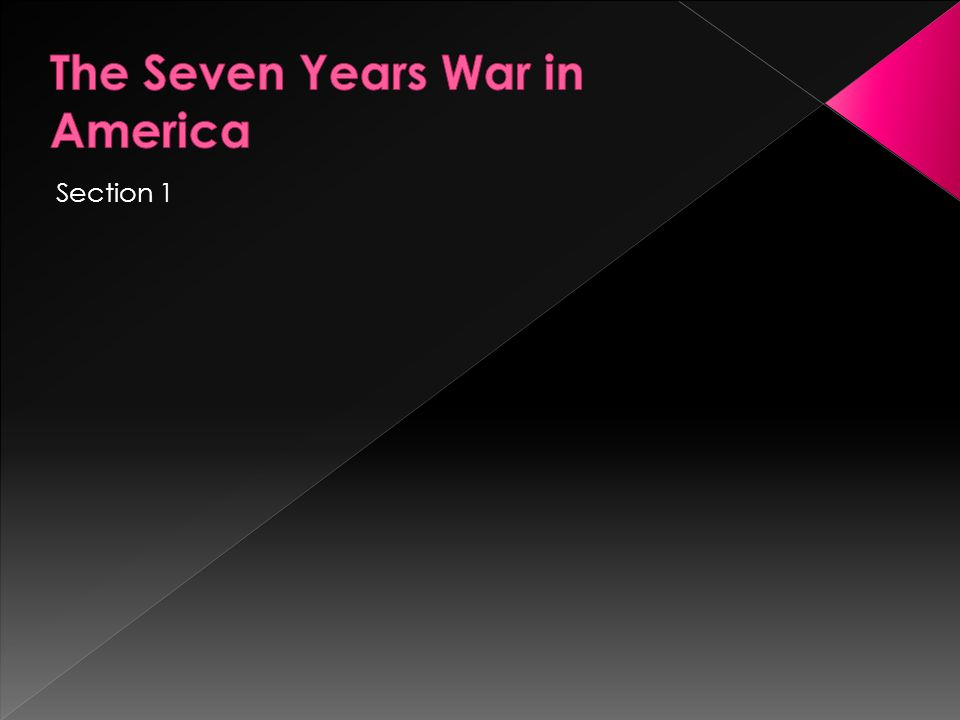  Key Topics:  The final struggle among G. Britain, France, and natives for control of eastern North America  American nationalism in the aftermath