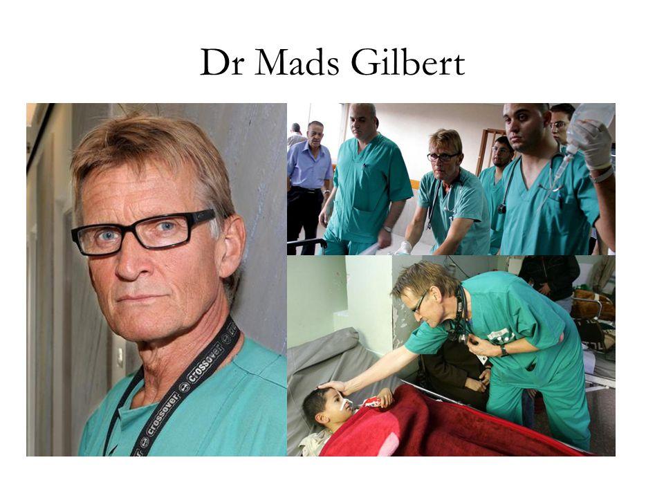 Dr Mads Gilbert