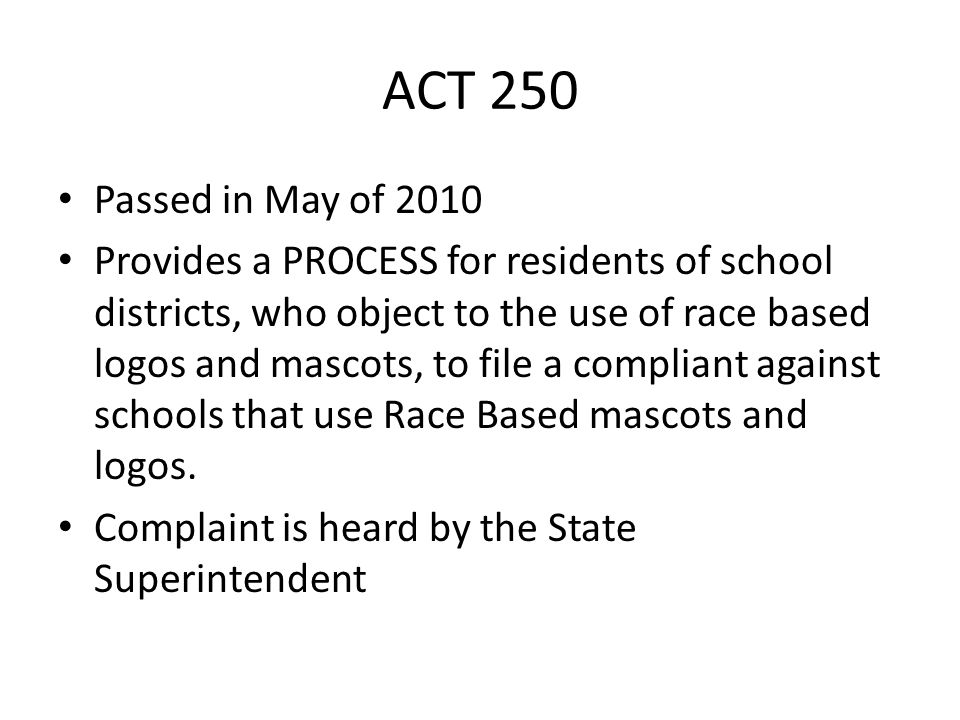 Why ACT 250 is important.