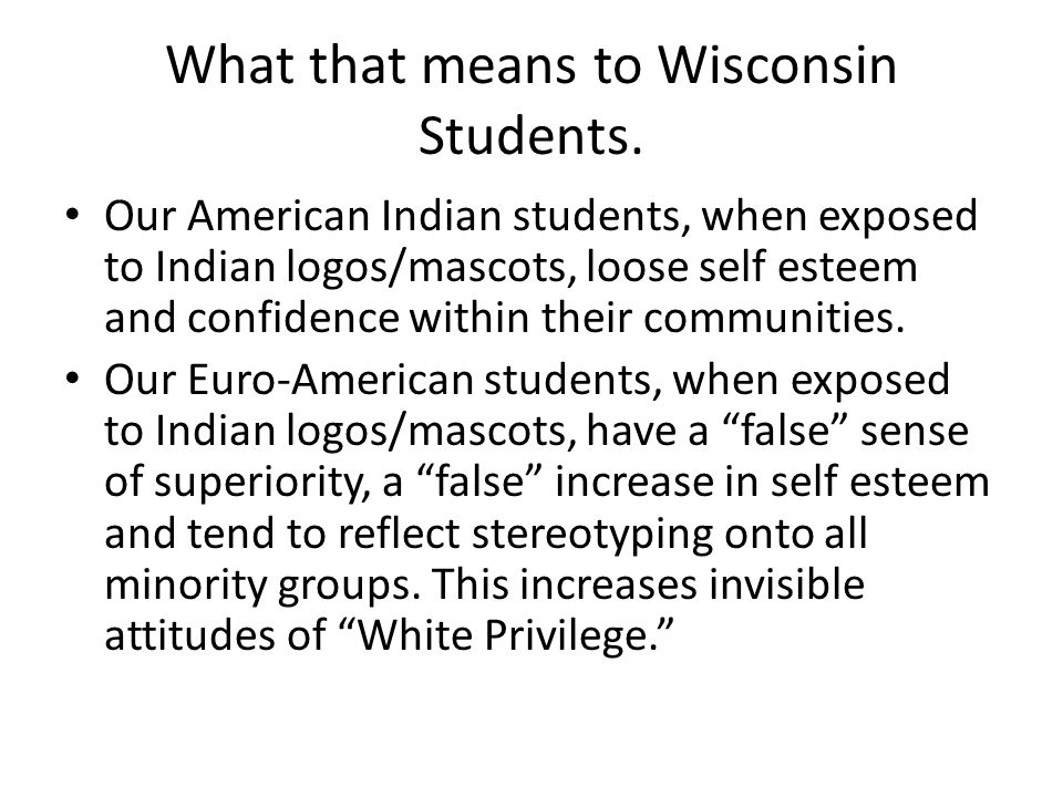What that means to Wisconsin Students.