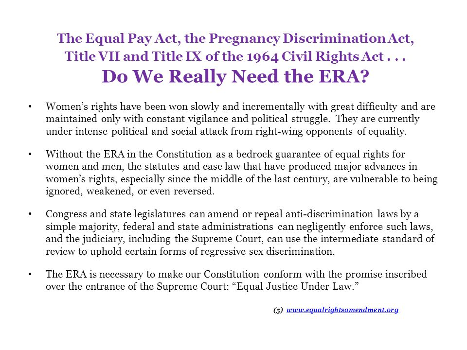 Two Strategies for ERA Ratification The traditional ratification process (per Article V of the Constitution): – Passage in the U.S.
