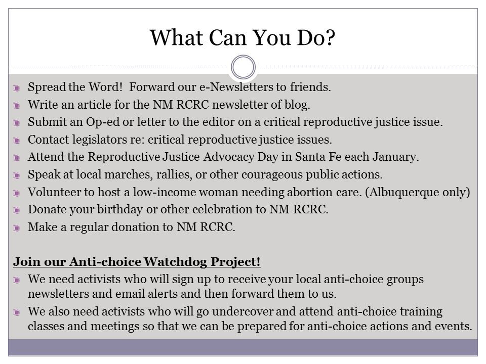 What Can You Do. Spread the Word. Forward our e-Newsletters to friends.