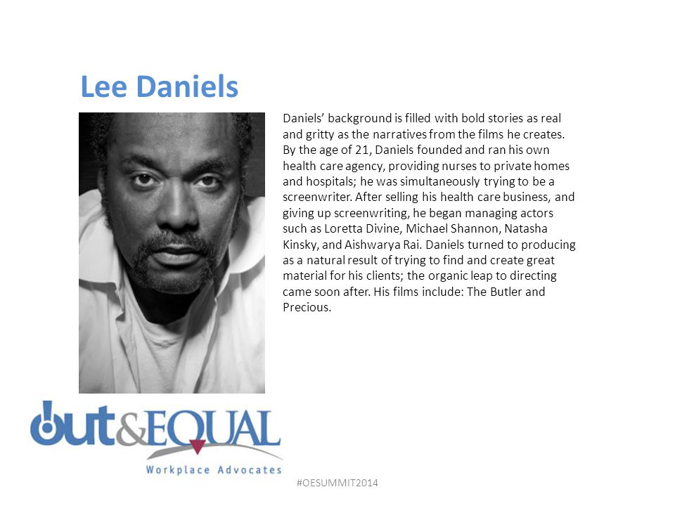 Daniels' background is filled with bold stories as real and gritty as the narratives from the films he creates.