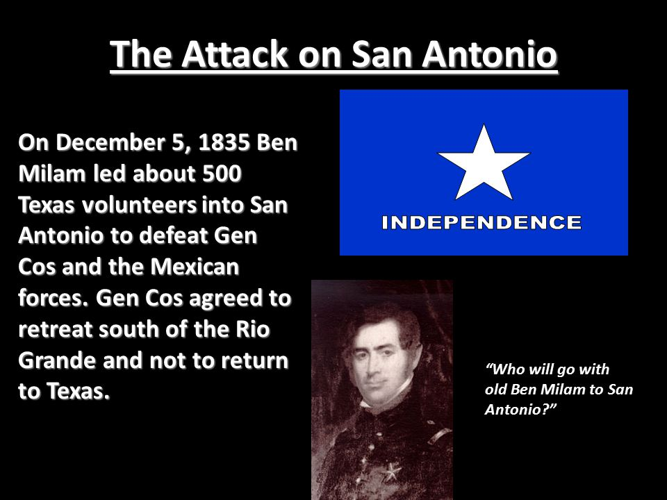 The Consultation On November 4, 1835 delegates met in San Felipe de Austin to discuss what they should do. They passed the Declaration of the People c