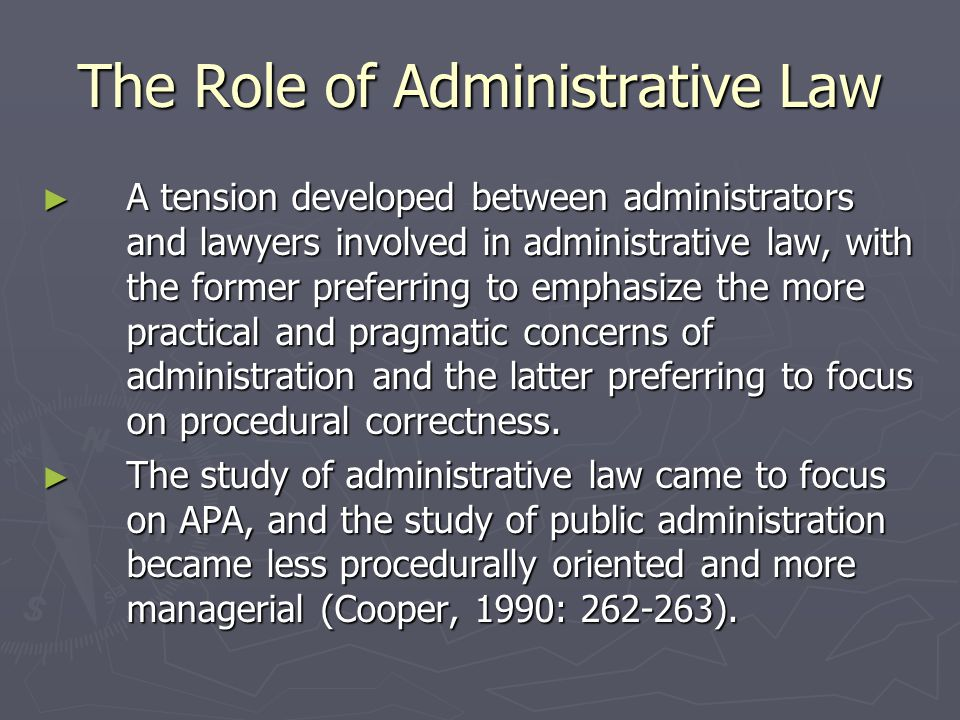 Administrative Rule-Making and Order-Making ► Congress and other legislative bodies have delegated authority to administrative agencies to make rules and to issue orders in order to reduce the burden on legislators.