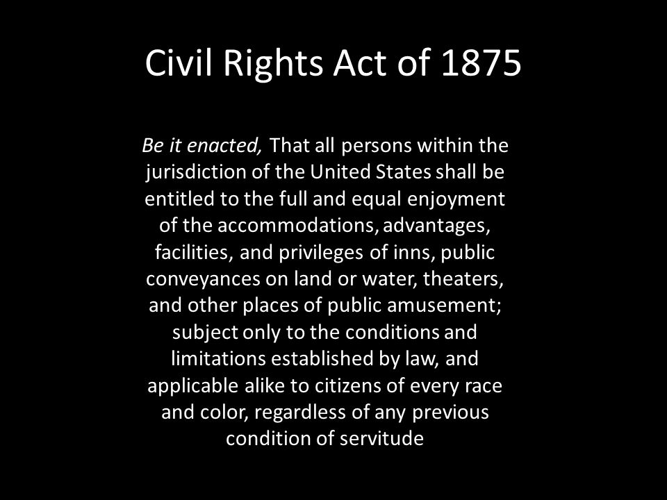 Section 3-13 (pages 382–383) Legalizing Segregation Click the mouse button or press the Space Bar to display the information. In the late 1800s, both