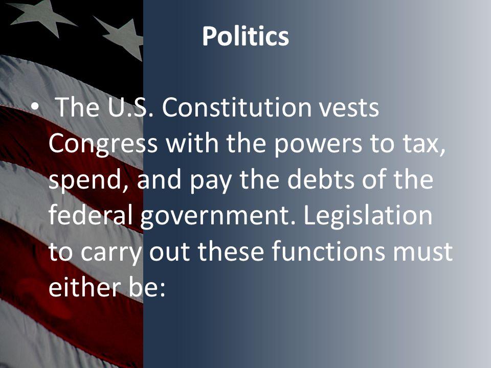 Politics The U.S.