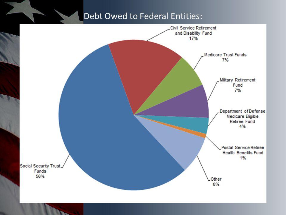 Debt Owed to Federal Entities: